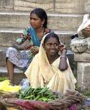 Mercado de Udaipur - la India Imagenes de archivo