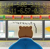 Mercado de urso (CMYK) Ilustração Royalty Free