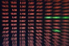 mercado de valores de ação Imagens de Stock Royalty Free