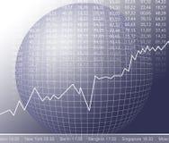 Mercado de valores de acção foto de stock royalty free