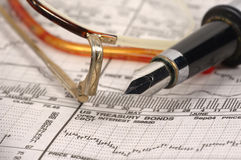 Mercado de valores de acção 2 Fotografia de Stock Royalty Free
