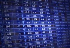 Mercado de valores de acção Imagem de Stock