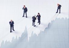Mercado de valores de acção Fotos de Stock