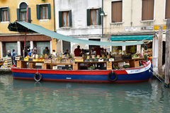 Mercado de Venecia Fotografía de archivo