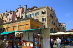 Mercado de Veneza Imagens de Stock