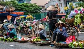Mercado de Vietnamees Fotografía de archivo libre de regalías