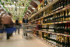 Mercado de vinho imagem de stock royalty free