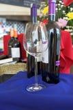 Mercado de vinhos Imagens de Stock