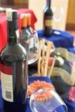 Mercado de vinos Imágenes de archivo libres de regalías