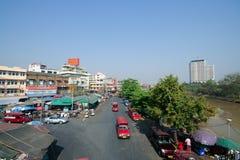 Mercado de Warorot Fotos de archivo