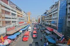 Mercado de Warorot Imagenes de archivo