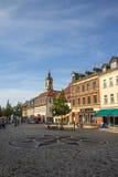 Mercado de Werdau, Alemania, 2015 foto de archivo