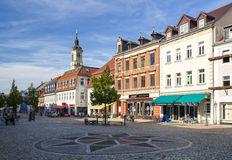Mercado de Werdau, Alemania, 2015 fotos de archivo libres de regalías