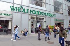 Mercado de Whole Foods en Manhattan Imagen de archivo