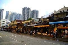 Mercado de Yau Ma Tei Wholesale Fruit fotografía de archivo