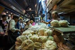 Mercado de Yehuda en Jerusalén, Israel fotografía de archivo libre de regalías