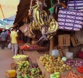 Mercado de Zanzíbar Foto de archivo libre de regalías