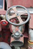 Mercado del agua del coche de bomberos fotografía de archivo libre de regalías