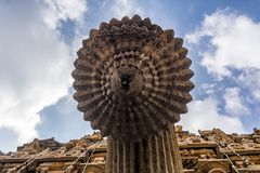 Mercado del agua santa - en el templo de Brihadisvara en Thanjavur foto de archivo libre de regalías