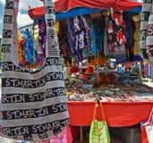 Mercado del aire abierto, Marigot, francés San Martín Fotos de archivo