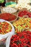 Mercado del alimento, Ho Chi Minh Foto de archivo libre de regalías