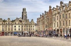 Mercado del Arras en Francia Imagen de archivo libre de regalías