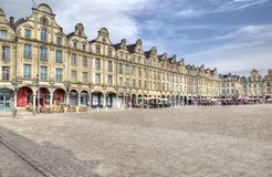 Mercado del Arras en Francia Fotografía de archivo libre de regalías