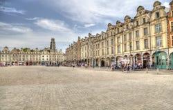 Mercado del Arras en Francia Foto de archivo