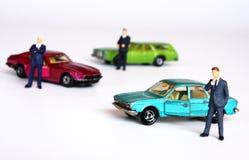 Mercado del coche Imágenes de archivo libres de regalías