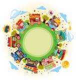 Mercado del departamento alrededor del mundo Imagen de archivo