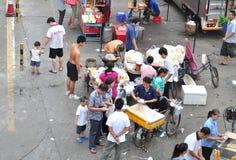 Mercado del desayuno Fotos de archivo