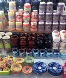 Mercado del EL en Quetzala, Guerrero, México imagenes de archivo