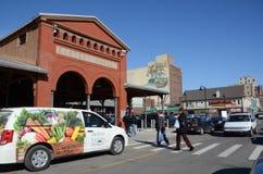 Mercado del este de Detroit Imágenes de archivo libres de regalías