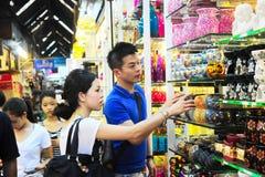 Mercado del fin de semana de Chatuchak Foto de archivo