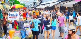 Mercado del fin de semana de Chatuchak Imagen de archivo libre de regalías