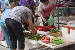Mercado del granjero Imagenes de archivo