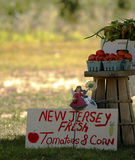 Mercado del granjero de New Jersey Fotos de archivo