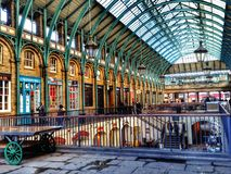 Mercado del jardín de Covent Fotografía de archivo