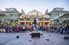 Mercado del jardín de Covent en Londres Fotografía de archivo