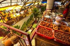 Mercado del KR, Bangalore, la India foto de archivo libre de regalías