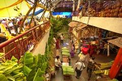 Mercado del KR, Bangalore, la India fotografía de archivo