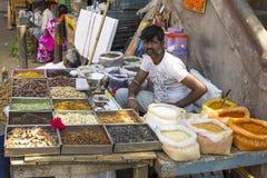 Mercado del KR, Bangalore, la India imágenes de archivo libres de regalías