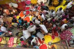 ¡Mercado del KR en Bangalore! fotos de archivo