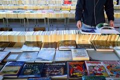 Mercado del libro de Londres imagenes de archivo