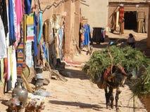 Mercado del local del marroquí imagen de archivo libre de regalías