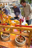 Mercado del queso Imagen de archivo