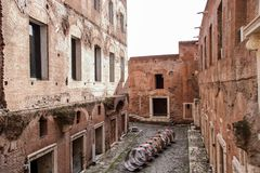 Mercado del ` s de Trajan Imagen de archivo