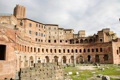 Mercado del ` s de Trajan Imagen de archivo libre de regalías