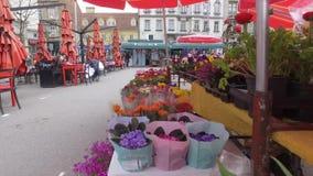 Mercado del ` s del granjero en Zagreb