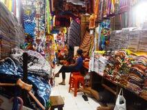 mercado del sukowati en Denpasar Imagenes de archivo